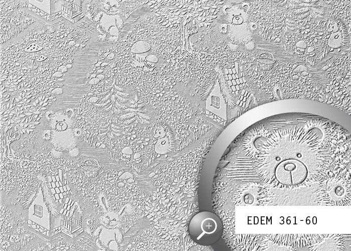 Wallpaper SAMPLE EDEM 361 series paintable textured non woven 700x500