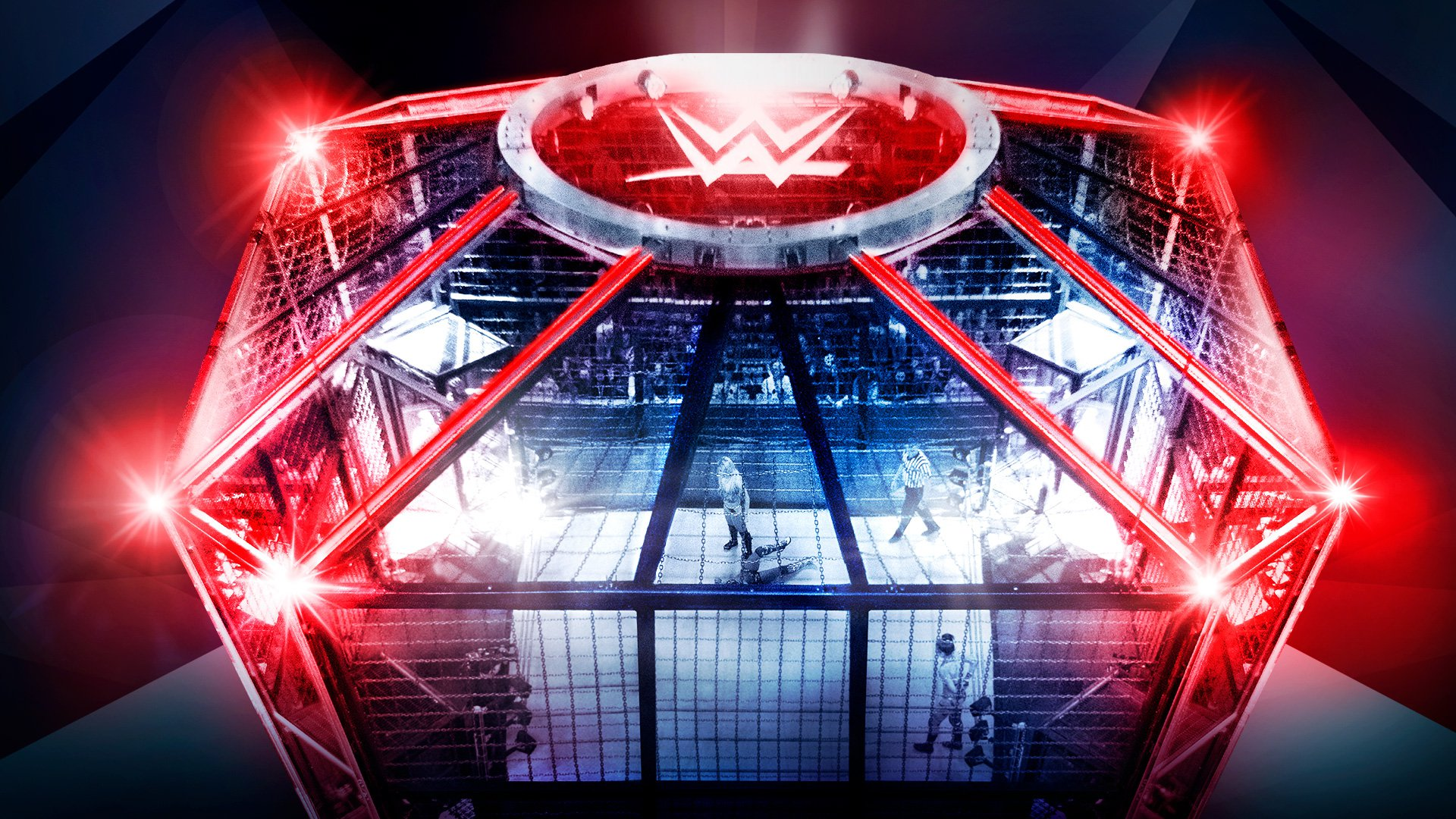 Watch the epic WWE Elimination Chamber 2019 open with Dead Poseys 1920x1080