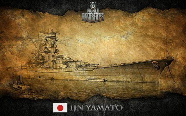 IJN Yamato   ART   Fan Zone   World of Warships official forum 640x400