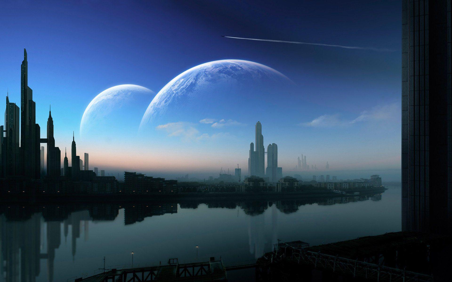 Futuristic Cities Wallpaper