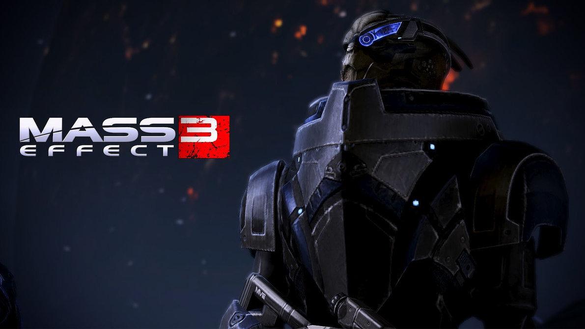 Mass Effect 3 Garrus Wallpaper by mefan101 1191x670