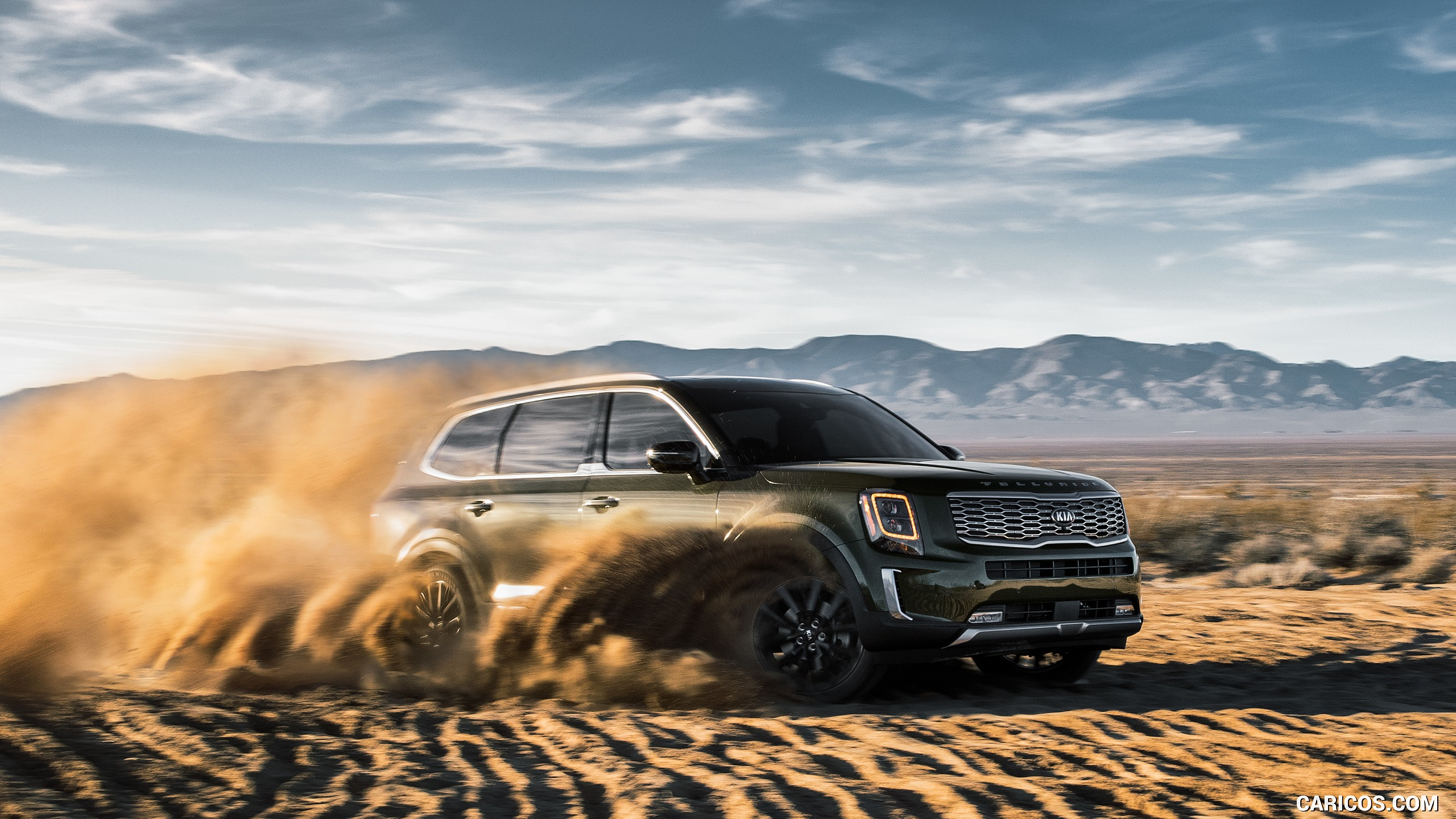 2020 Kia Telluride   Front Three Quarter HD Wallpaper 5 2560x1440