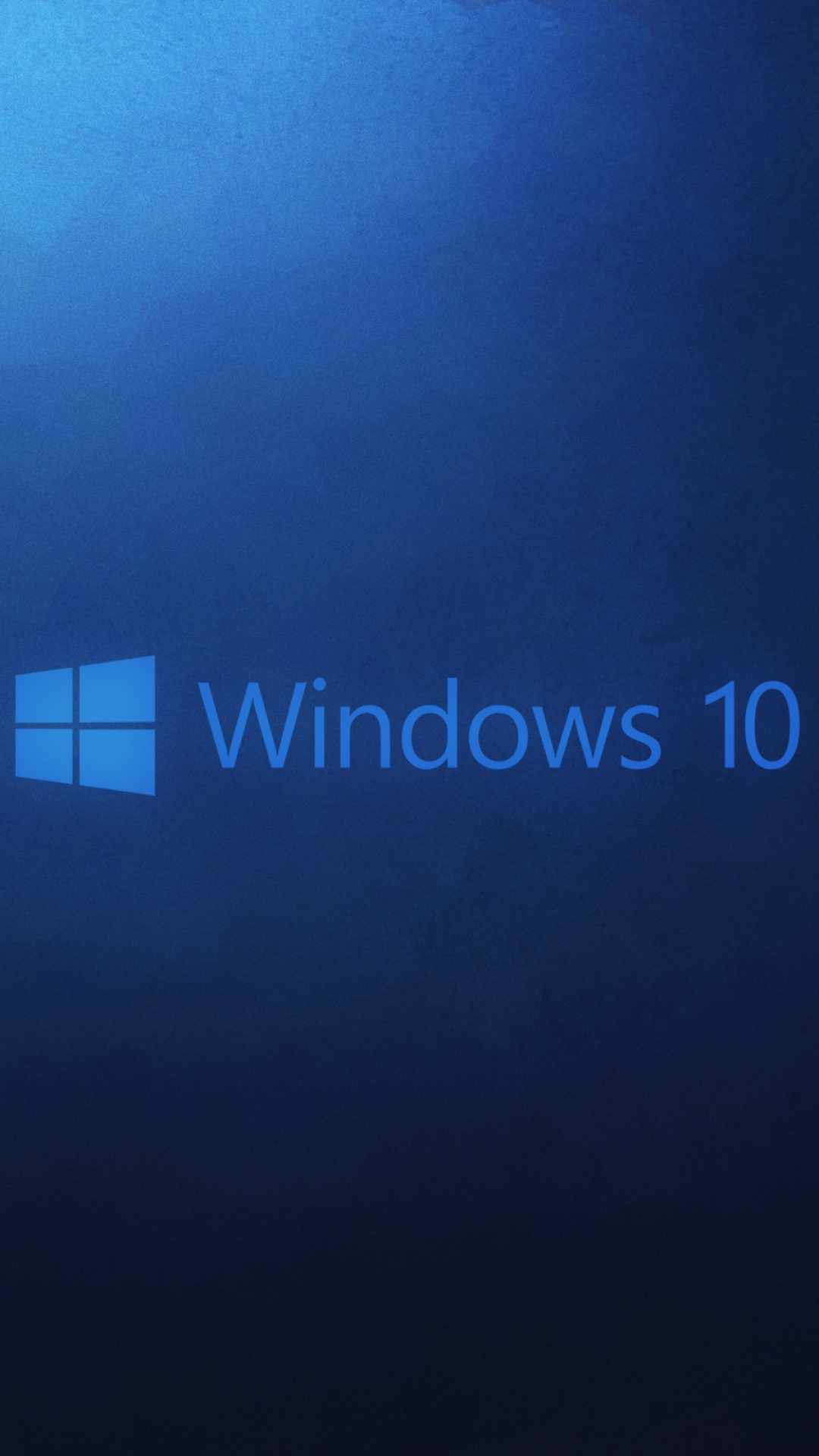 HD Background Windows 10 Wallpaper Microsoft Operating System Blue 1080x1920