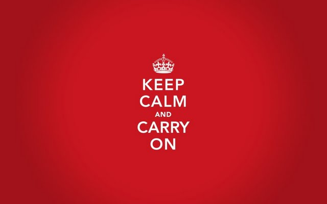 High resolution keep calm and carry on desktoplaptop wallaper Listed 640x400