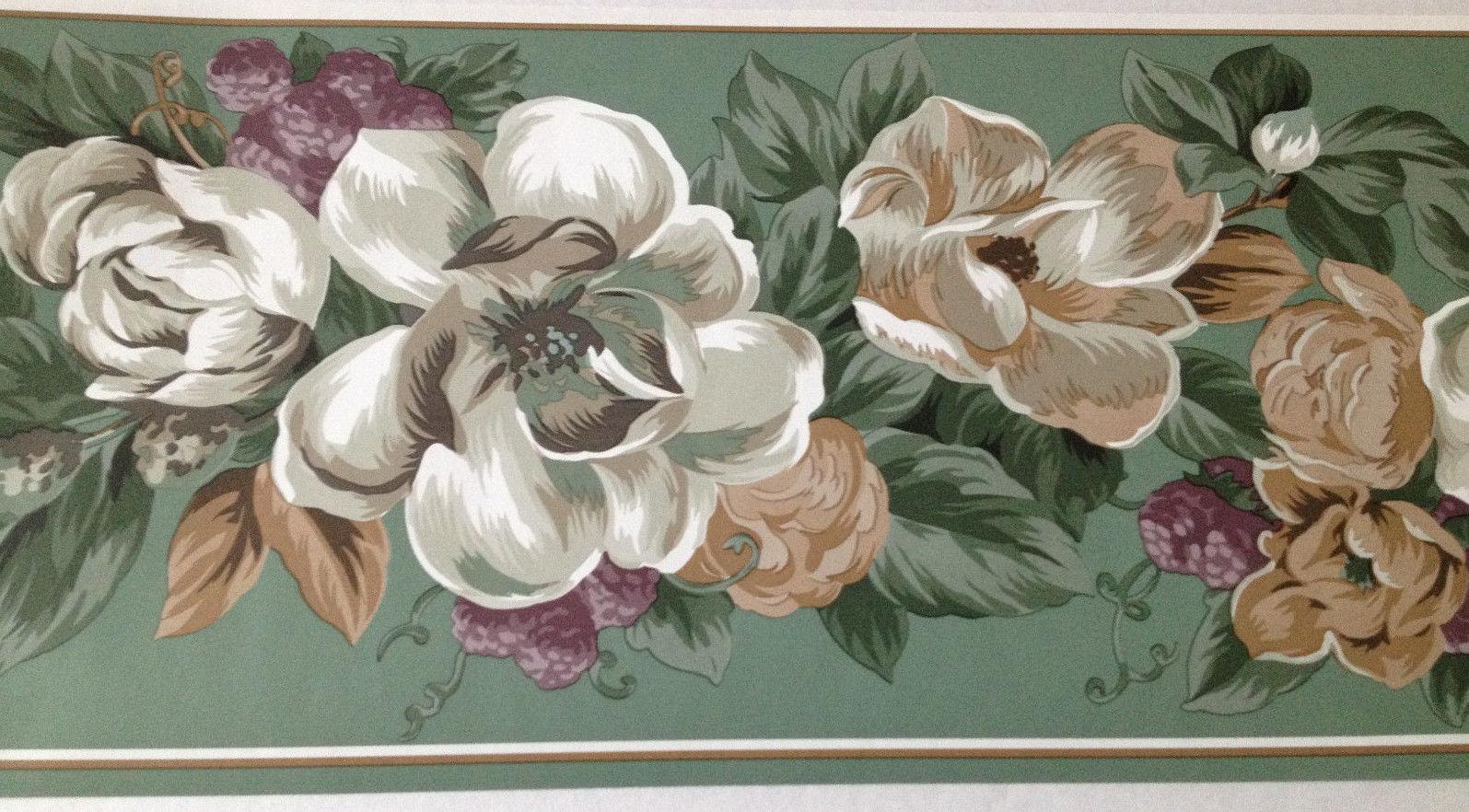 Magnolia SouthernTraditions wallpaper border   Wallpaper Borders 1595x882