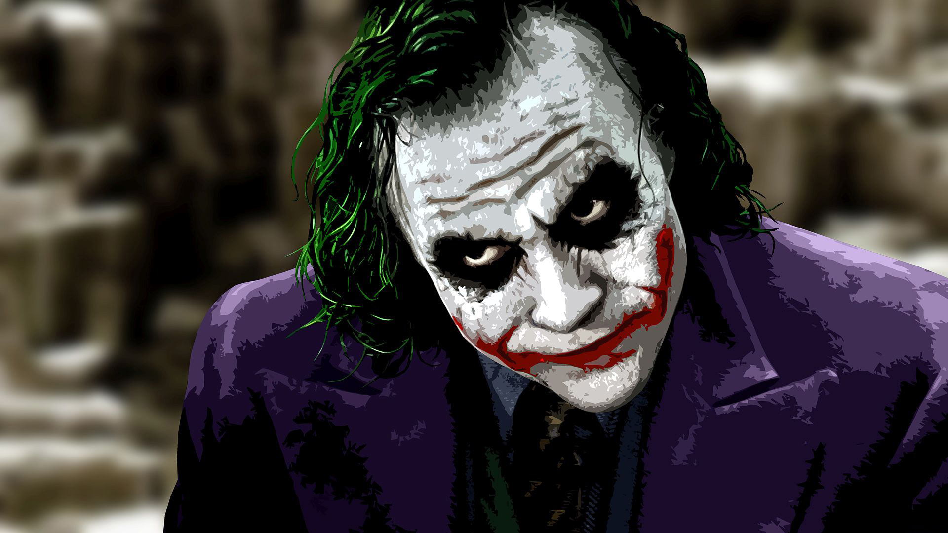 The Joker   The Dark Knight wallpaper   1208189 1920x1080