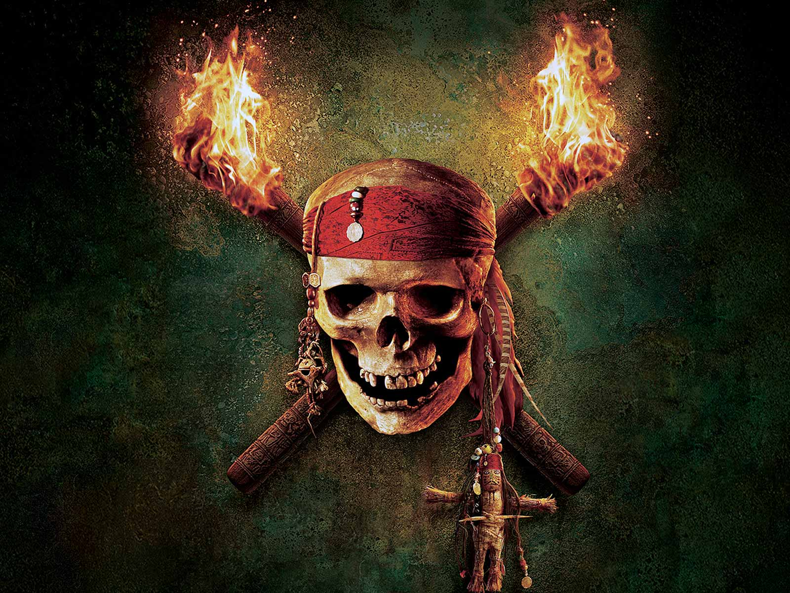 Skull   HD Action Movie Wallpapers   Pirates of Caribbean Skull 1600x1200