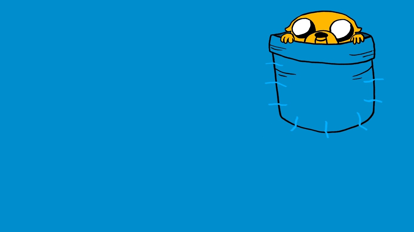 Time Wallpaper 1366x768 Adventure Time With Finn And Jake 1366x768