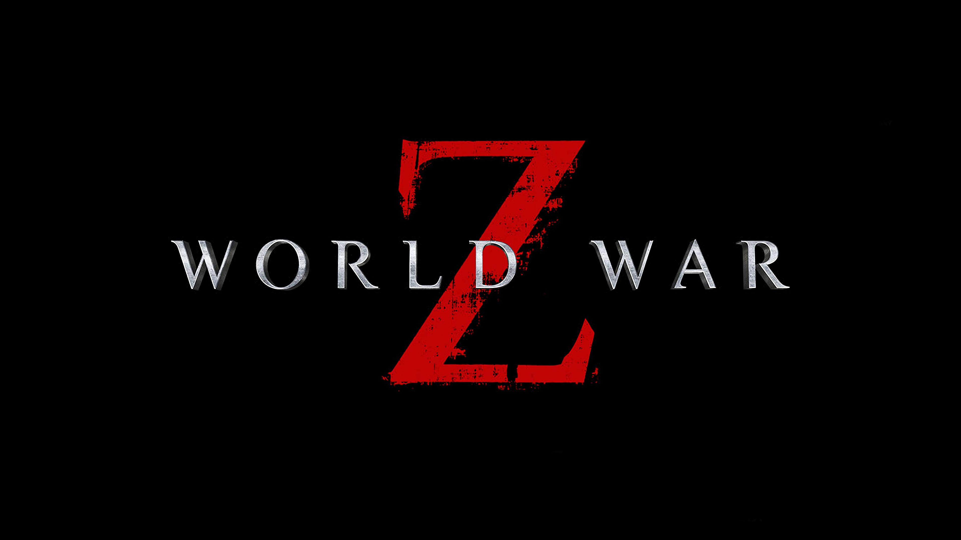 World War Z Video Game Logo 4K 13469 3840x2160