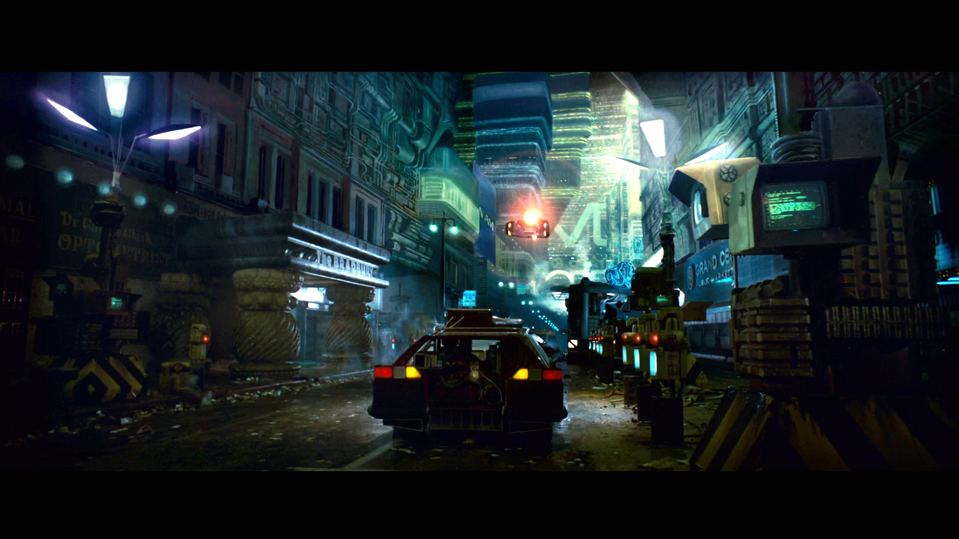 BLADE RUNNER drama sci Fi thriller action city fs wallpaper background 1920x1080