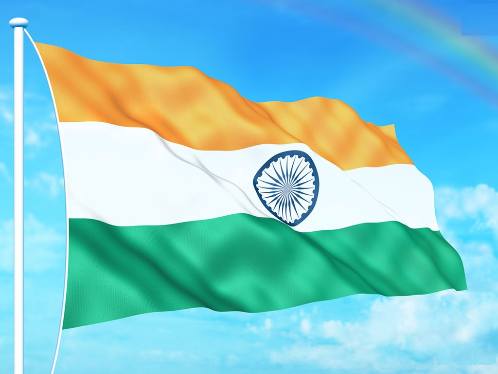 Flower With Indian Flag Hd: Indian Flag HD Wallpaper