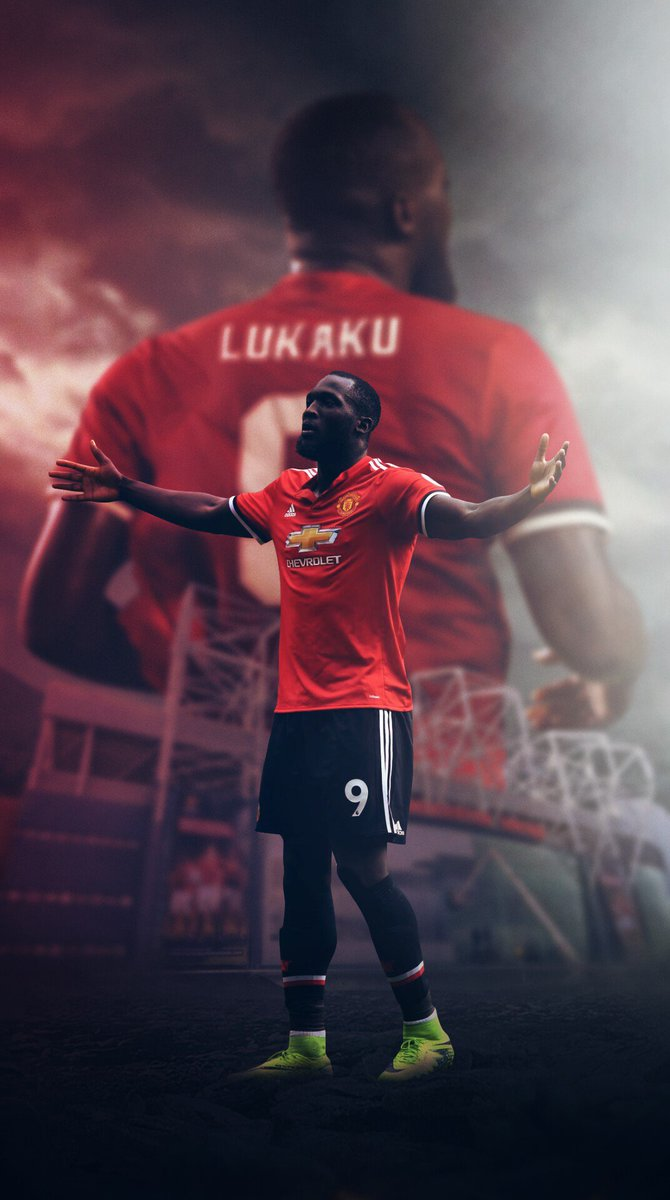 Manchester United on Twitter iPhone Wallpaper Romelu Lukaku 670x1200
