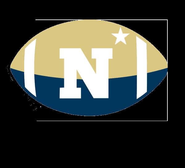 Navy Football Logo Announcements   navy football 600x544