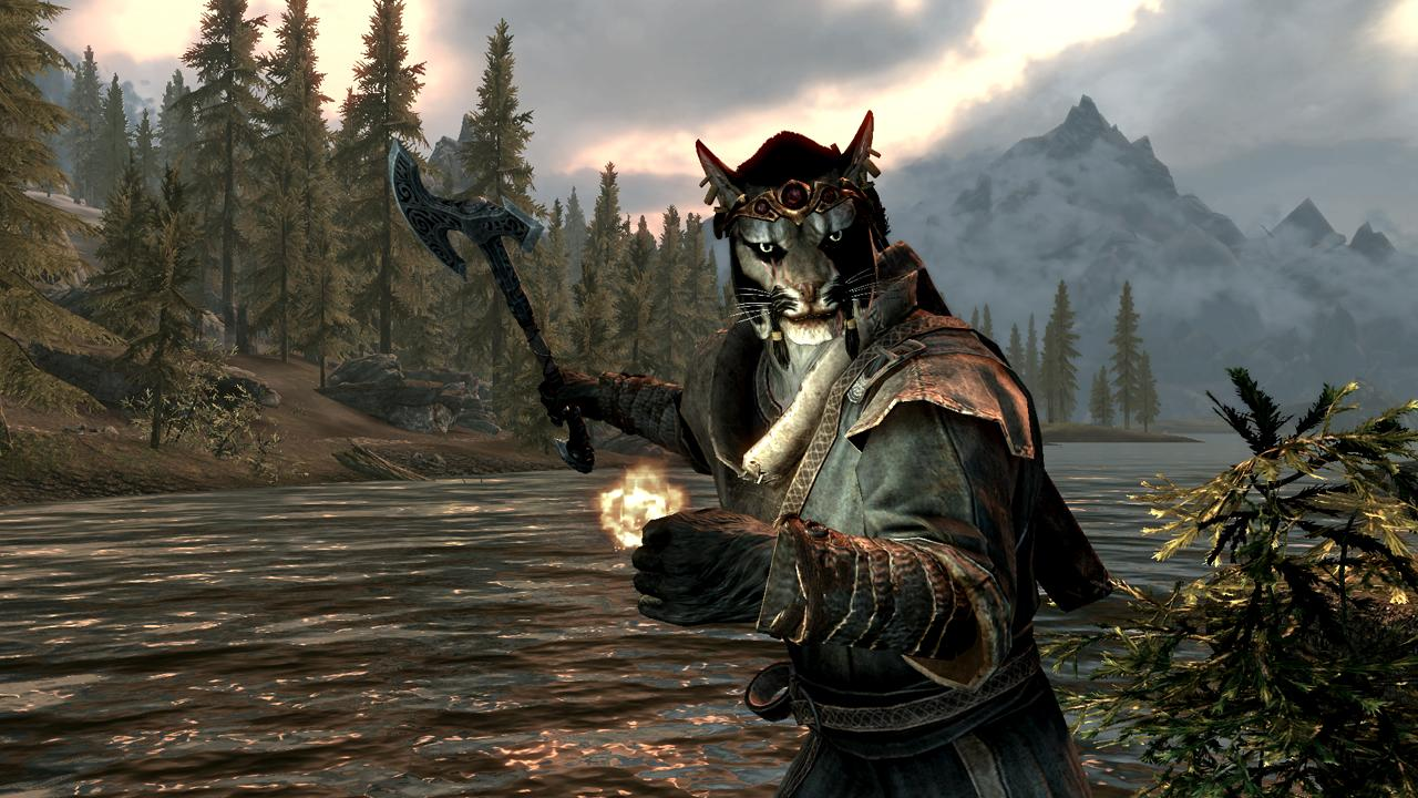 Bethesda Shows Off QuakeCon Skyrim Characters 1280x720