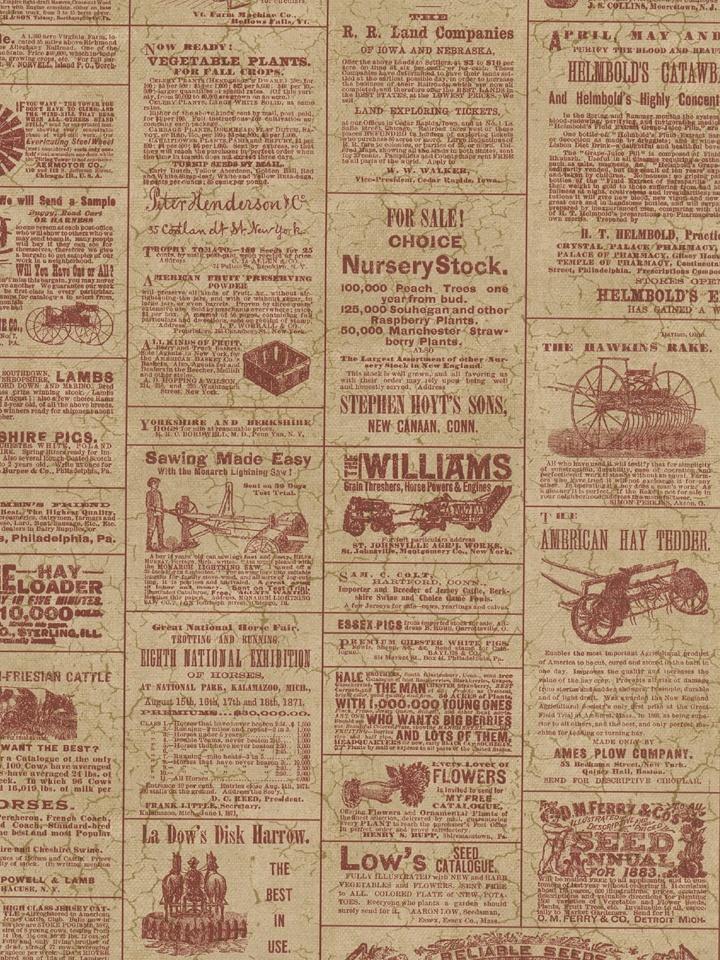 Love this vintage newspaper print wallpaper Pattern Repeat 205 720x960