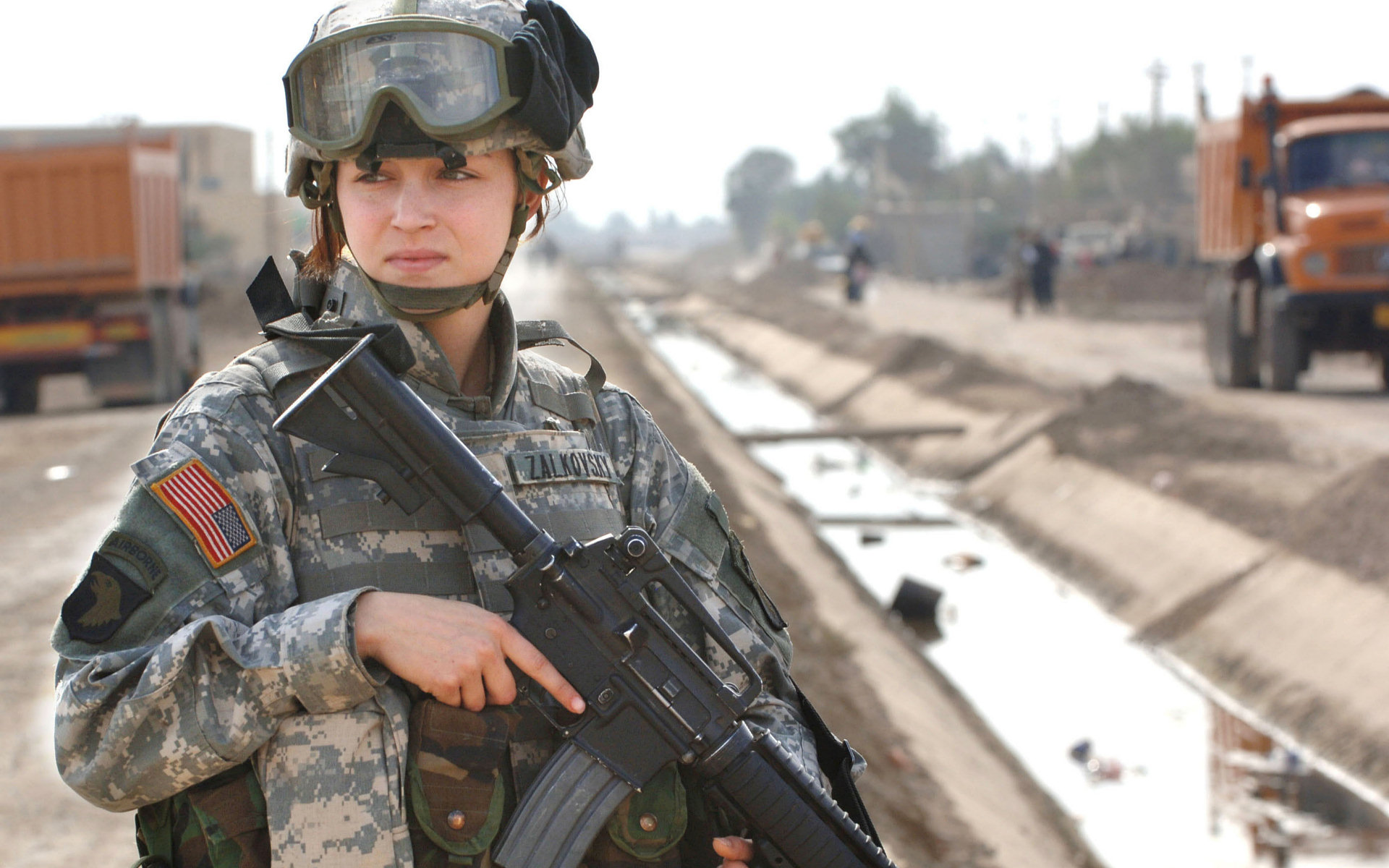 Girls In The Army Computer Wallpapers, Desktop Backgrounds | 1920x1200 ...