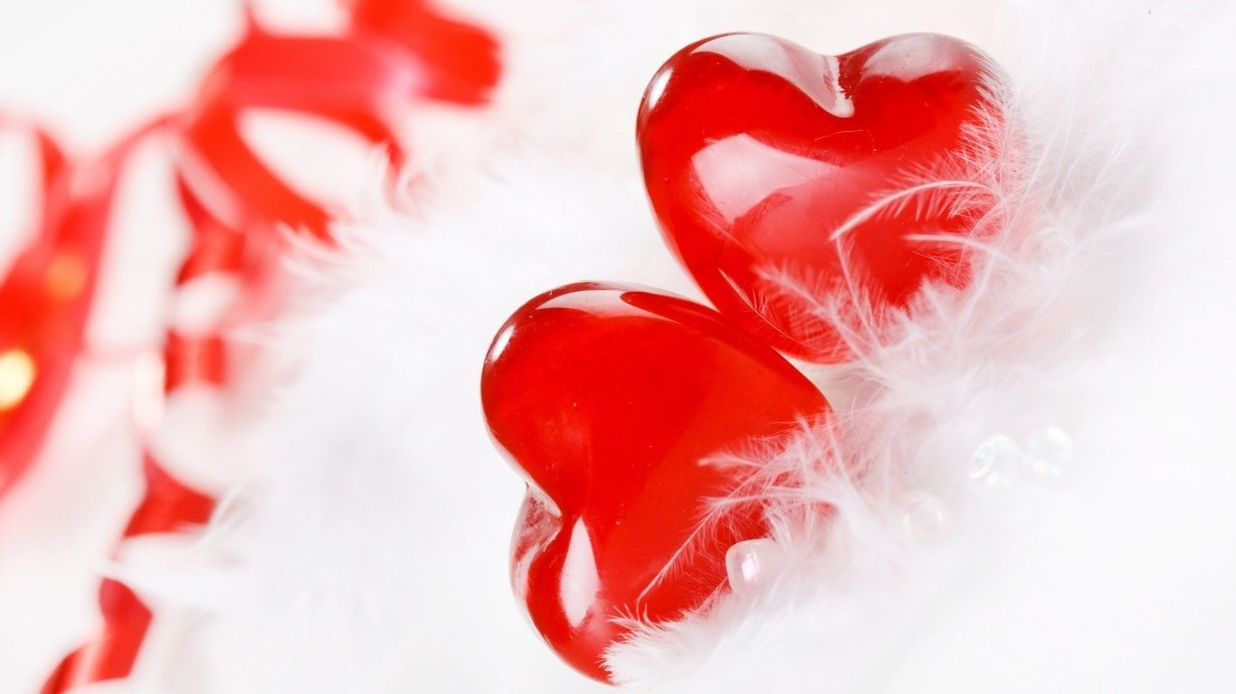 images of love hearts download HD   Love Heart Wallpapers Hd 1366x768
