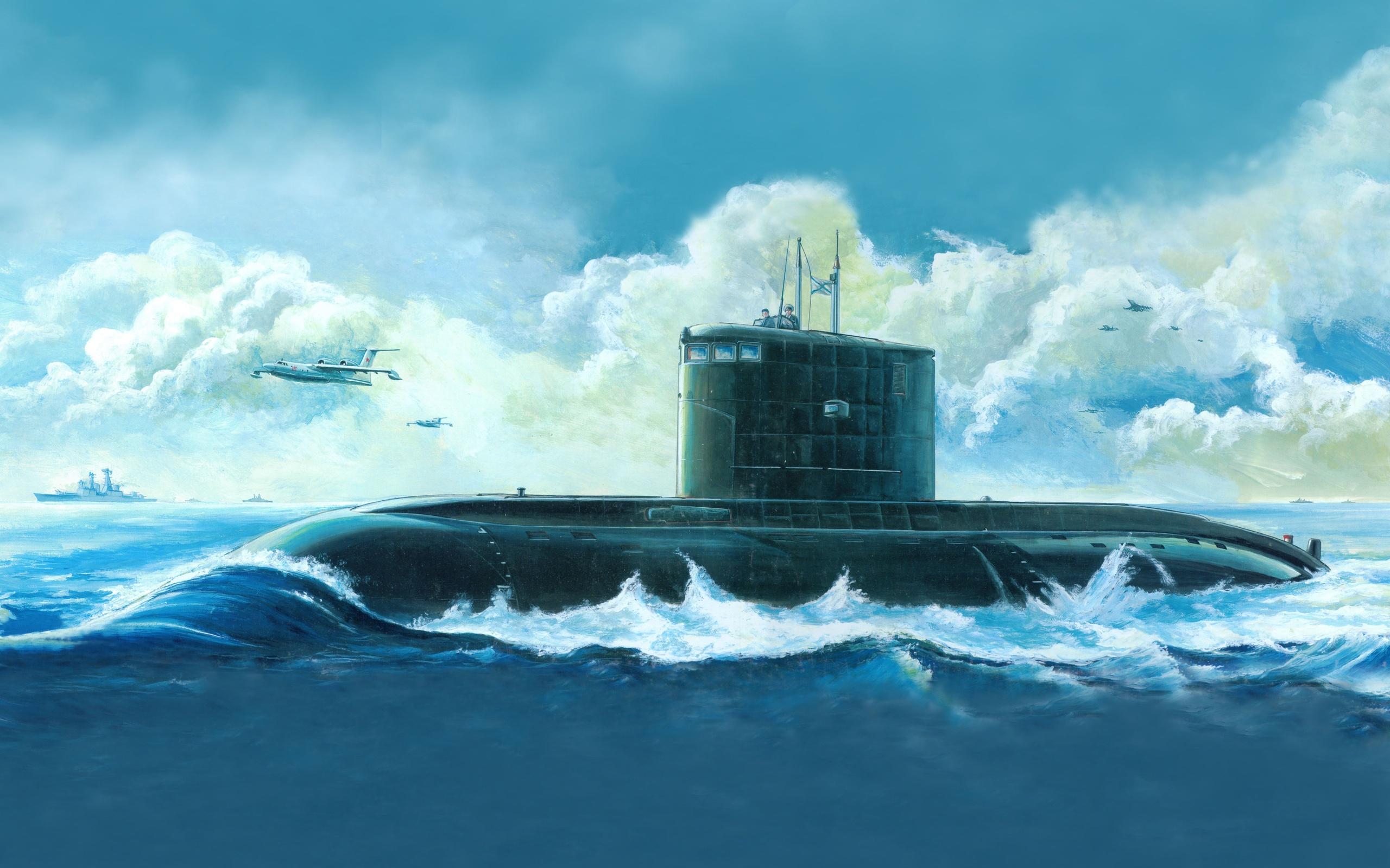 Submarine Computer Wallpapers Desktop Backgrounds 2560x1600