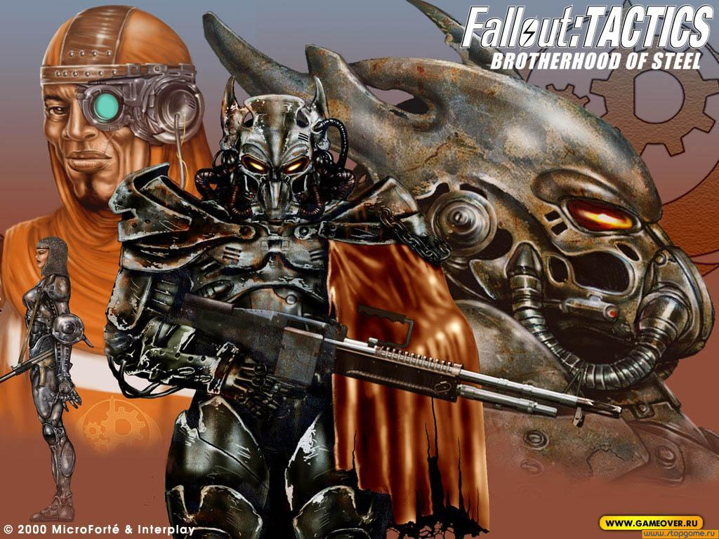 Fallout Tactics Brotherhood of Steel   wallpaper for the game 1024x768