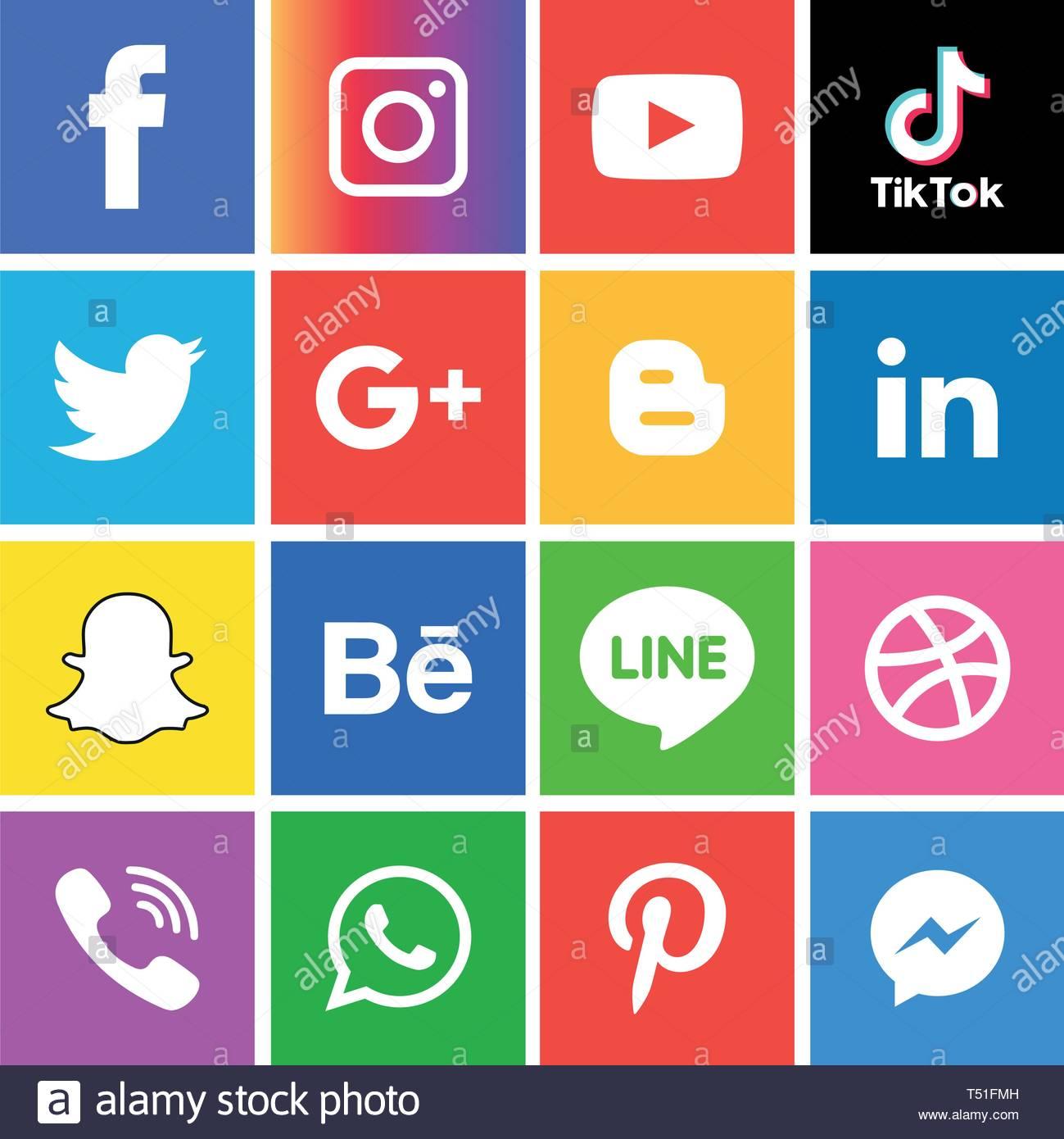 Social media icons set Logo Vector Illustrator Background social 1299x1390