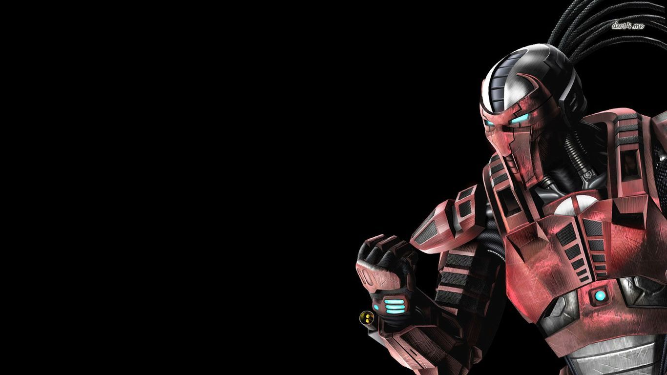 Sektor   Mortal Kombat 9 wallpaper   Game wallpapers   28844 1366x768