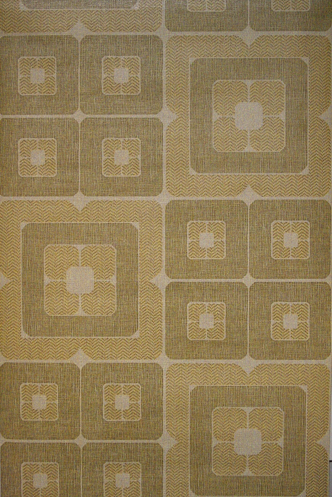 Brown Squares Geometric Vintage Wallpaper 683x1024