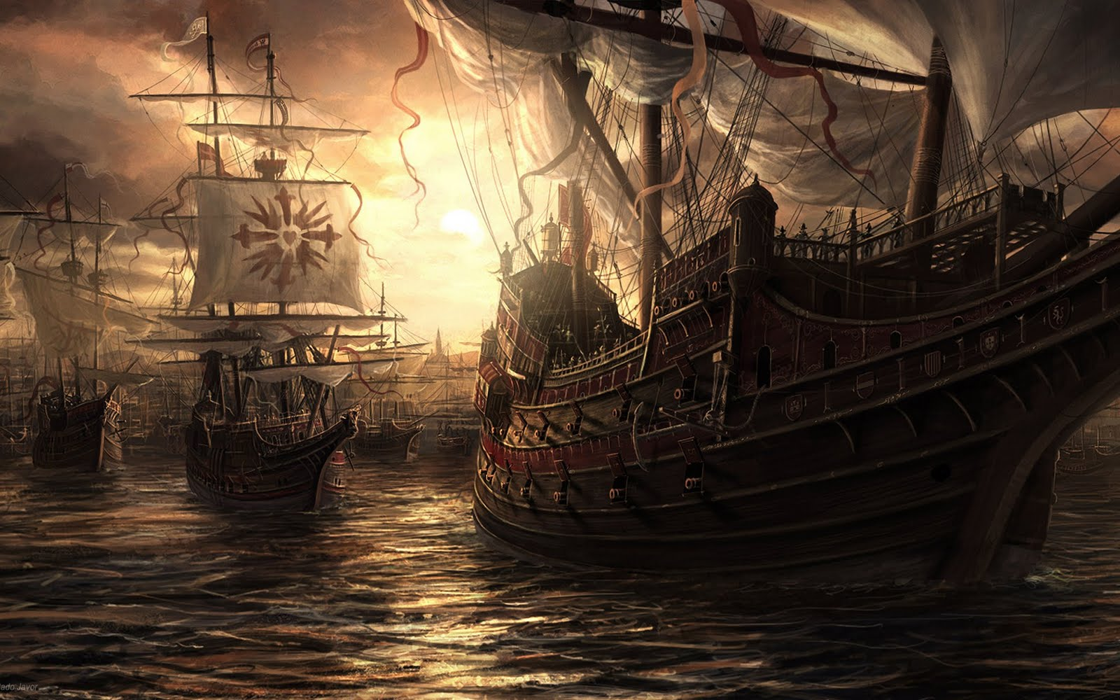 Wallpapers: Desktop, PSP, CellPhones, Laptops & Freebies!: Old Pirate ...
