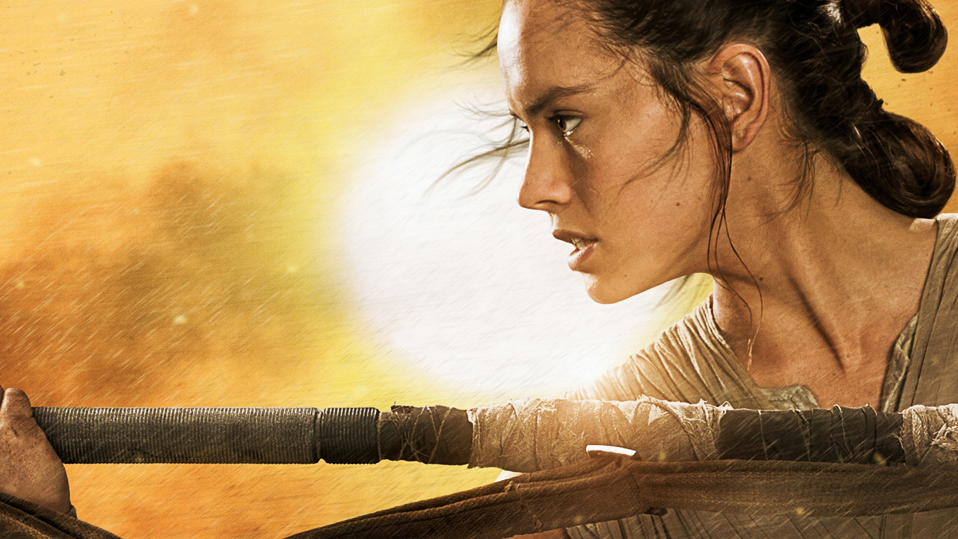 Star Wars The Force Awakens Rey Wallpapers HD Wallpapers 1920x1080