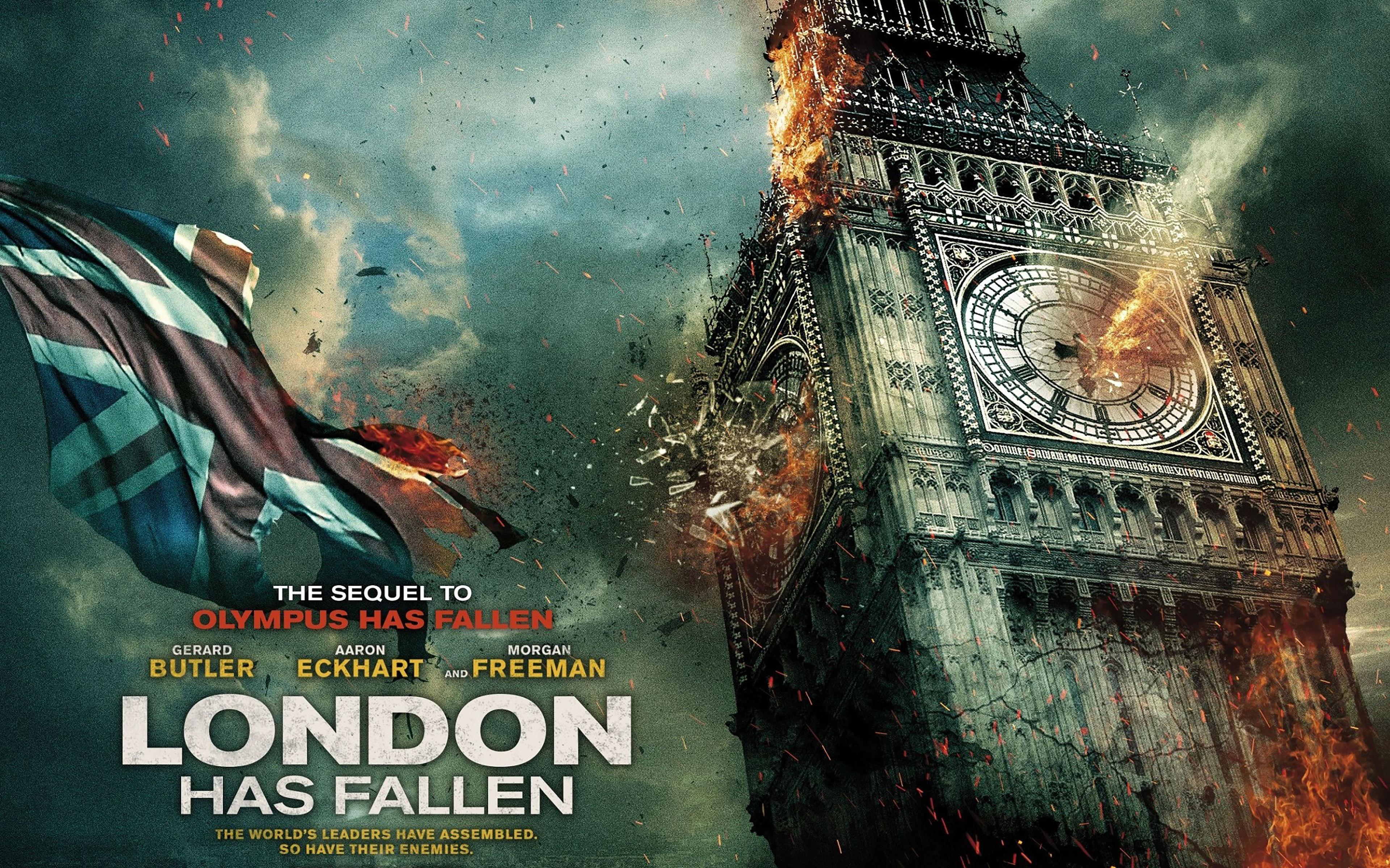 London Has Fallen 2015 Movie HD Wallpapers 3840x2400