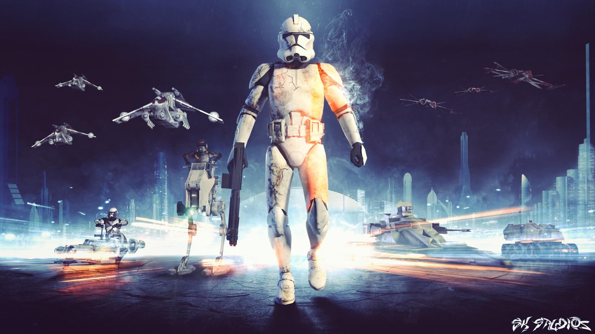 EA Star Wars Battlefront Wallpaper