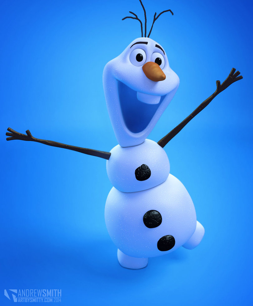 Olaf by Art by Smitty 812x983