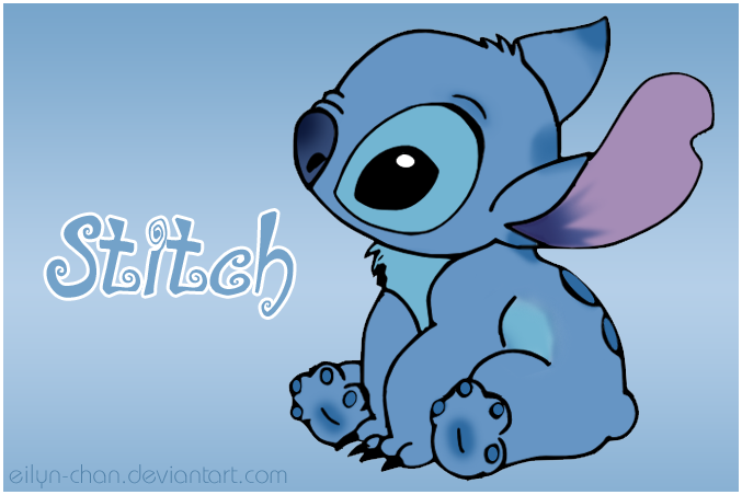 Cute Disney Stitch Wallpaper Stitch colored by eilyn chan 677x452