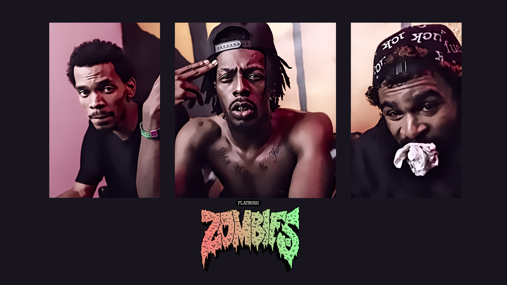 flatbush zombies iphone wallpaper wallpapersafari