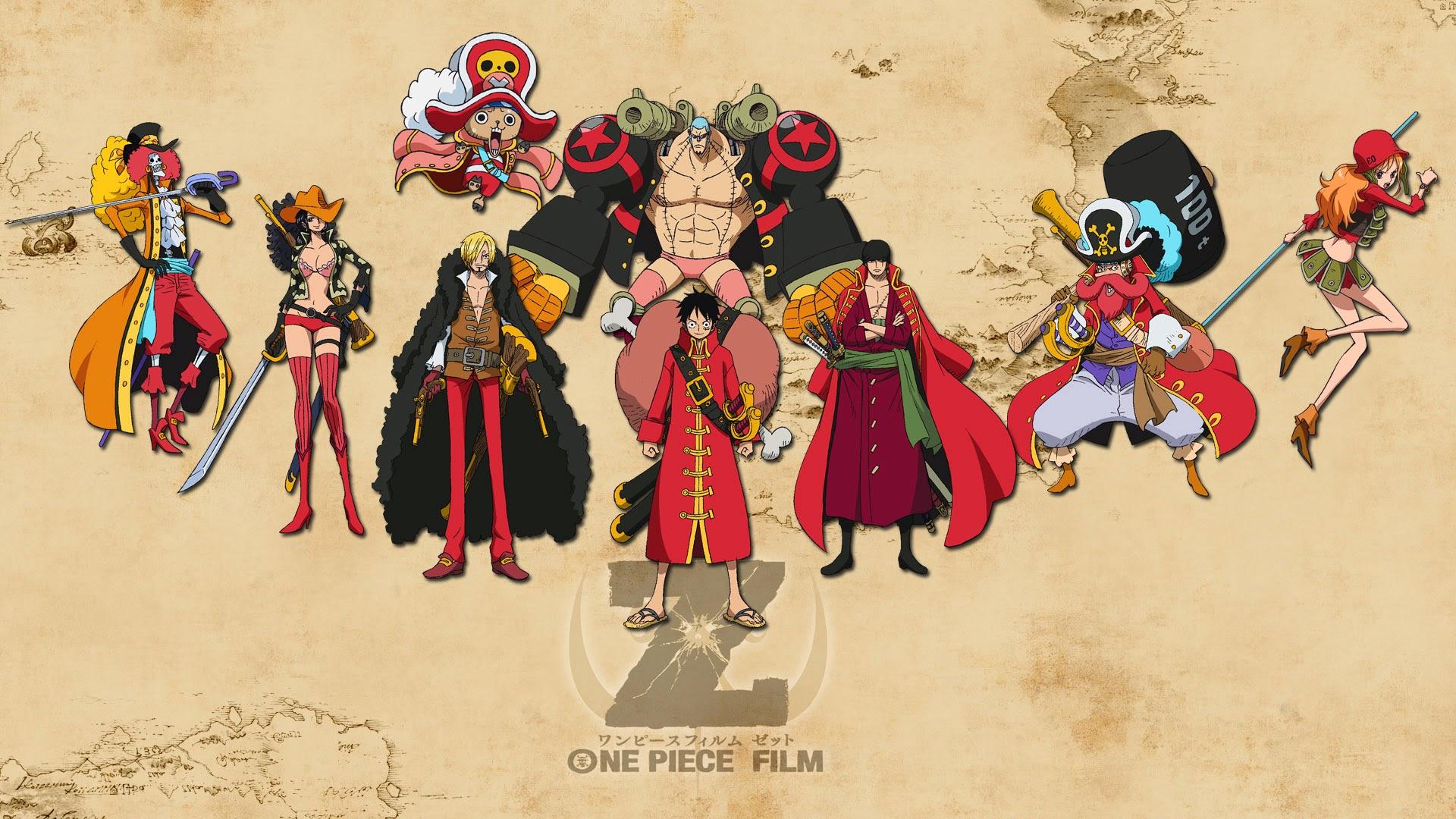 straw hats mugiwara pirates one piece film z costume anime hd 1920x1080