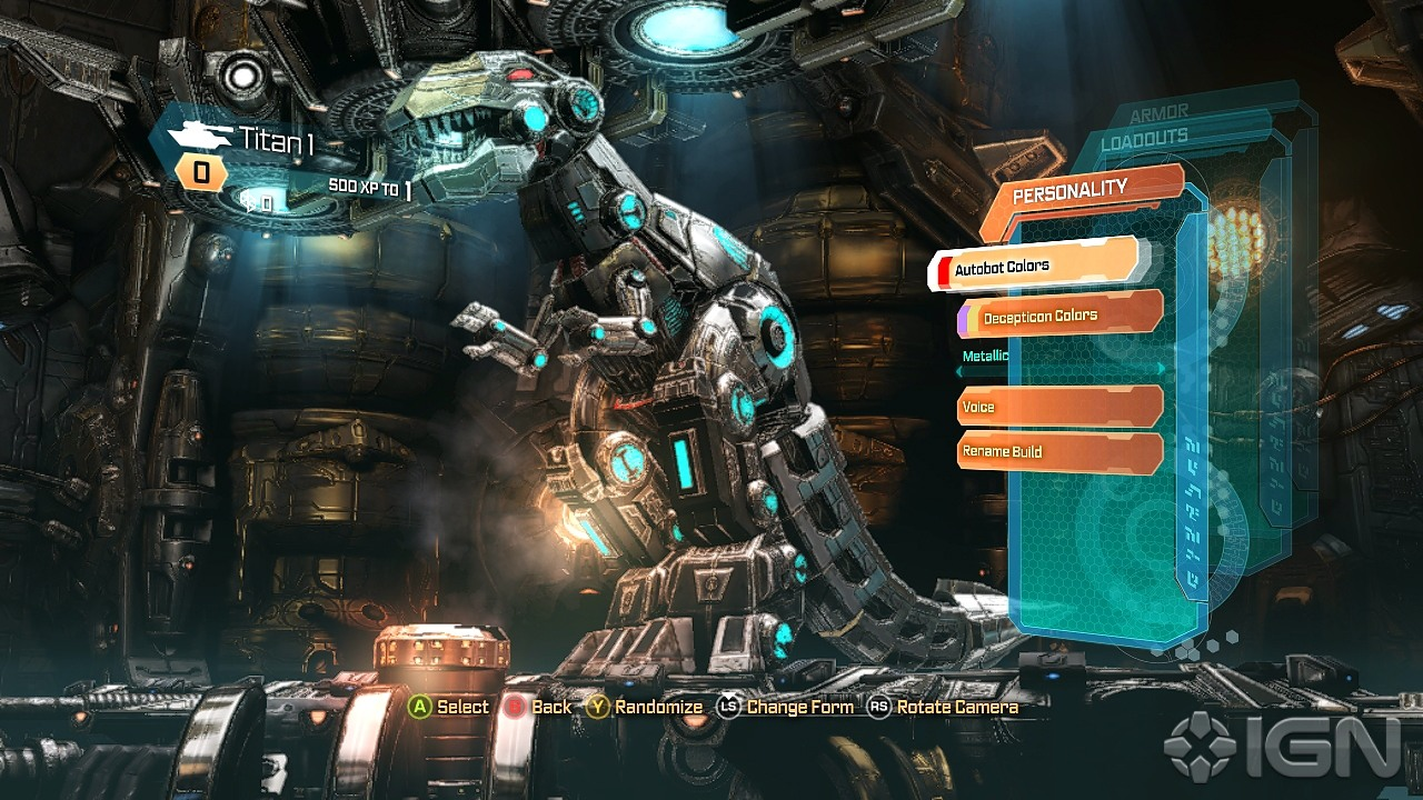 Transformers Fall of Cybertron Screenshots Pictures Wallpapers 1280x720
