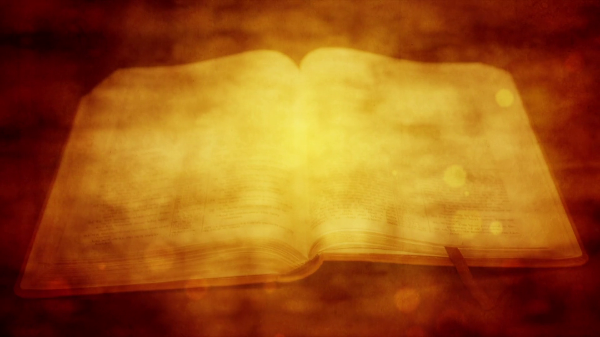 Open Bible Vintage Religious Motion Background Motion Background 1920x1080