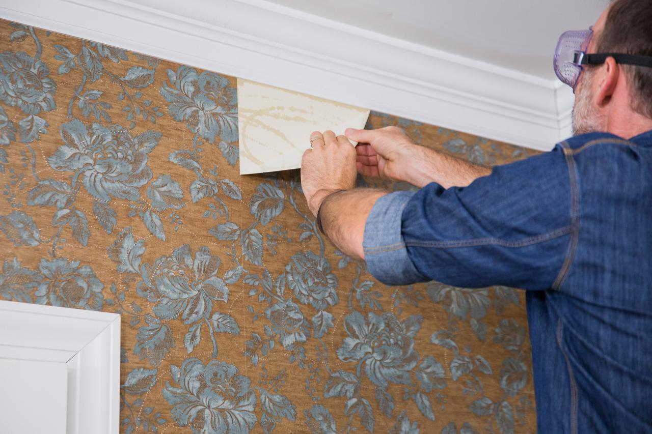 How to Remove Wallpaper HGTV 1280x853