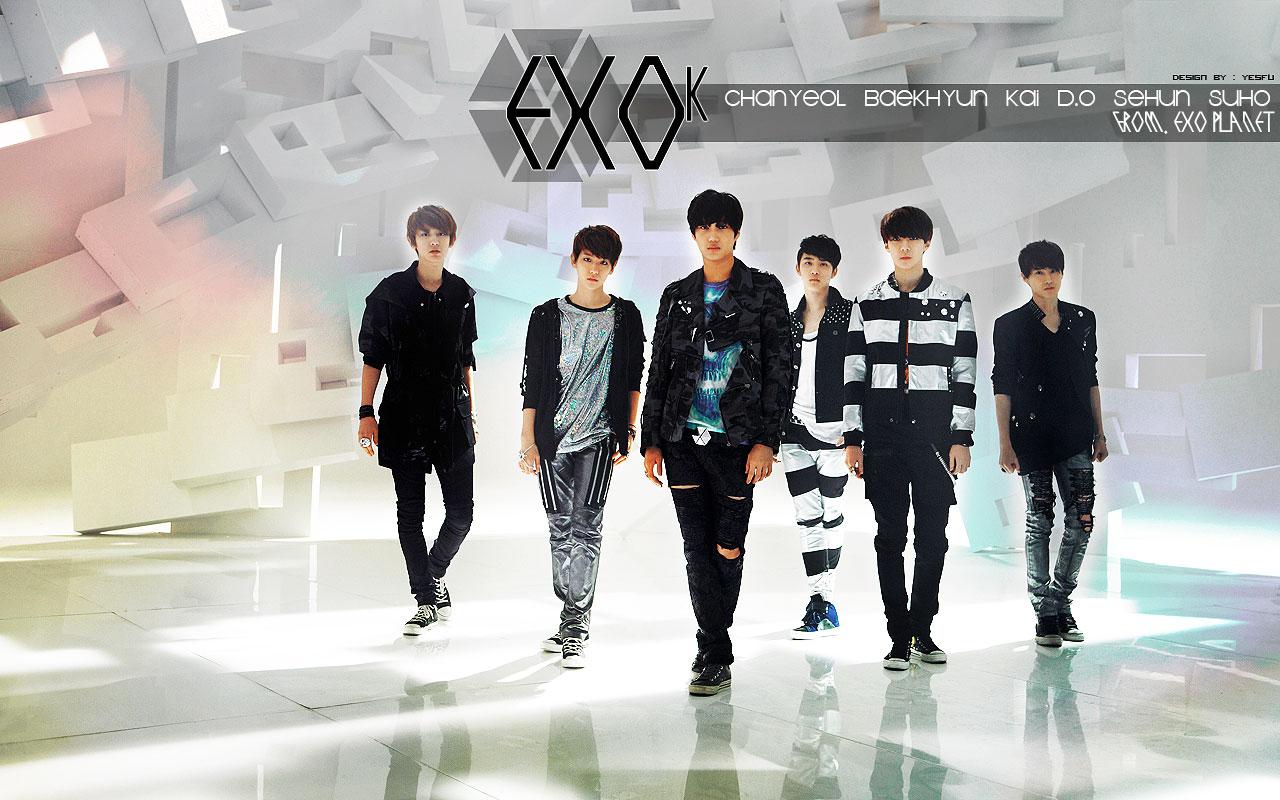 EXO   EXO Wallpaper 32297204 1280x800