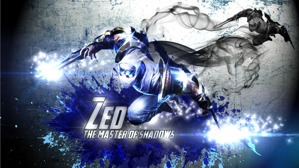 Free Download League Of Legends Lol Zed Wallpaper By M Wils