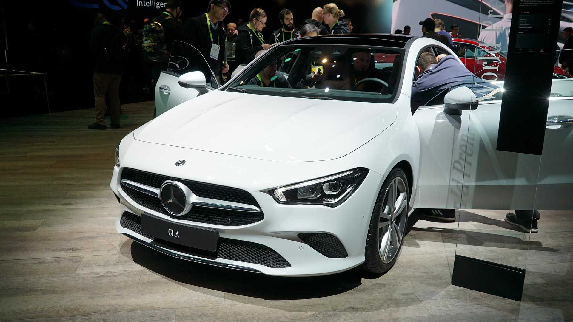 2020 Mercedes CLA Detailed In Live Shots Official Videos 1920x1080