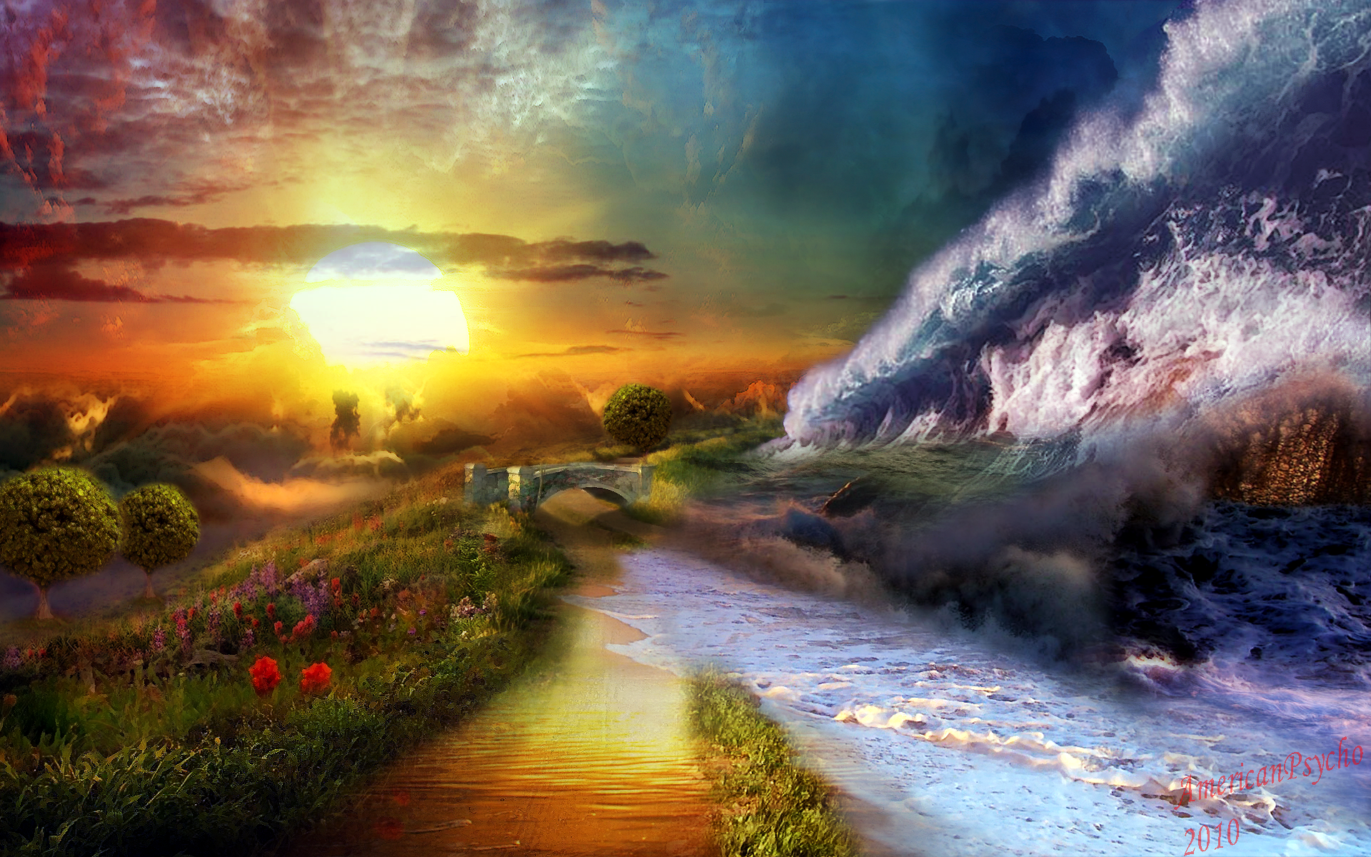 Lscapes Dreams HD wallpapers 1920x1200