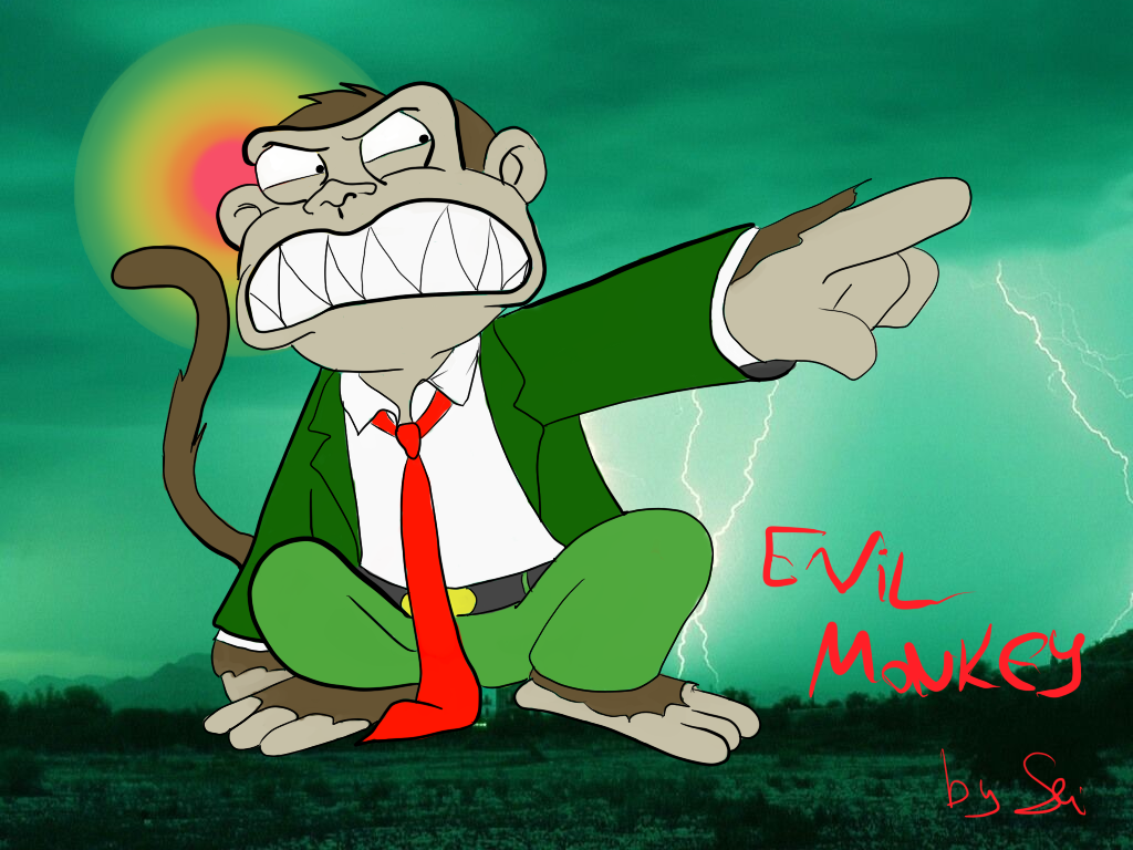 family guy wallpaper evil monkey, collection wallpapers
