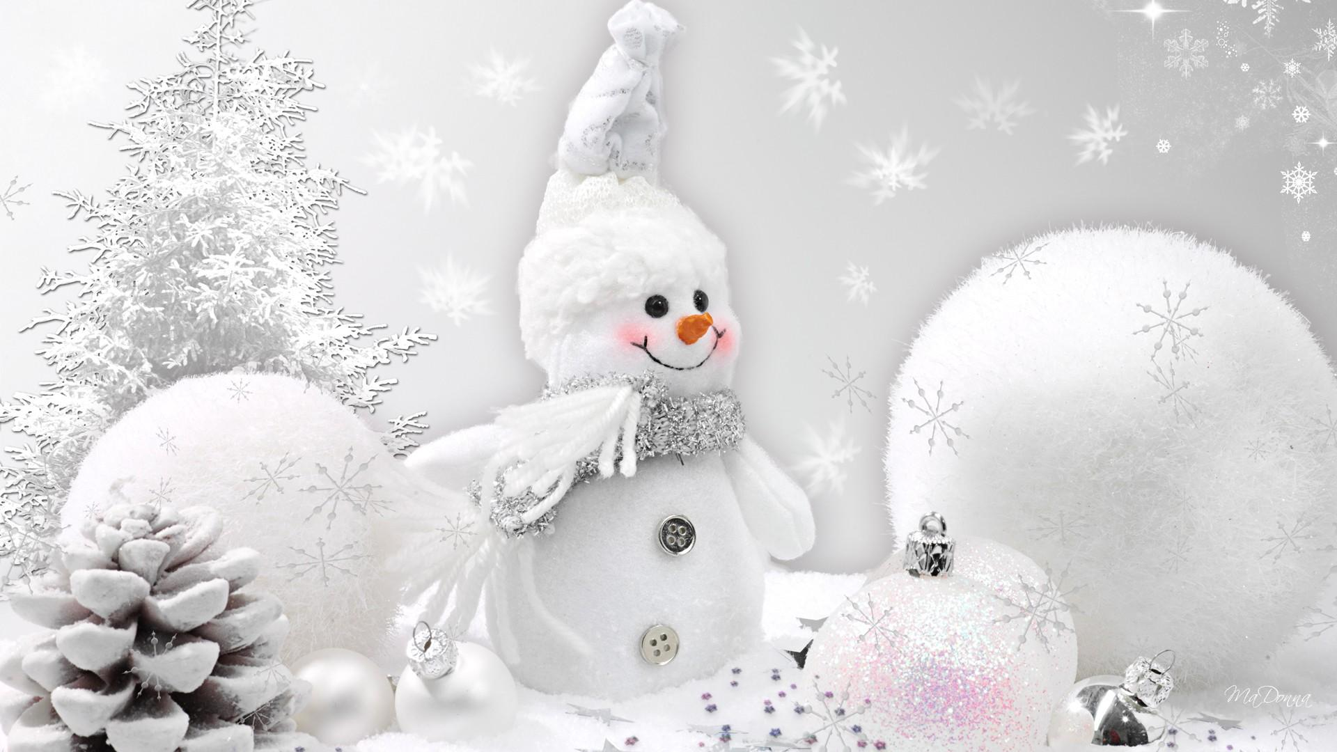 Snowman HD Backgrounds 1920x1080