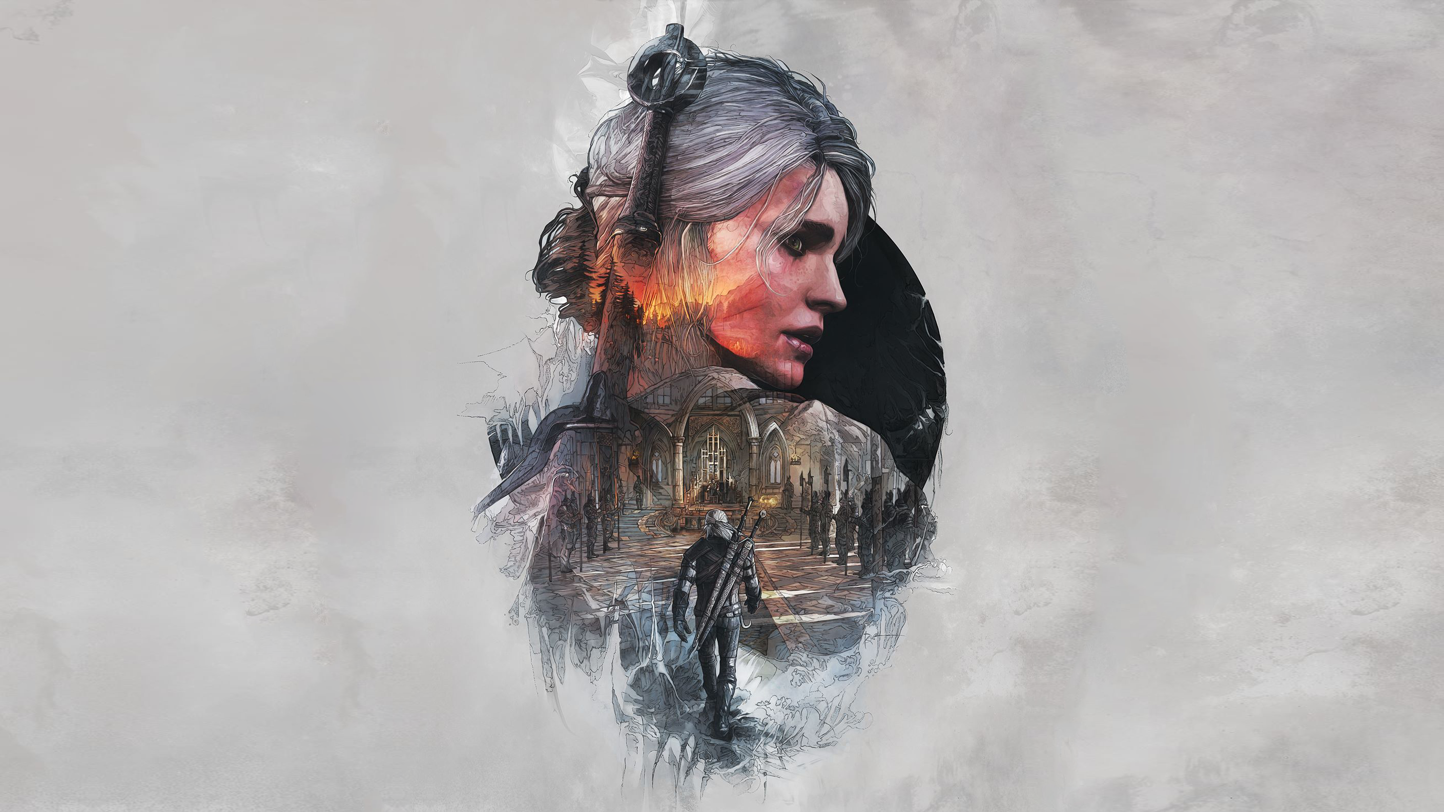 113 Ciri The Witcher HD Wallpapers Background Images 2818x1585