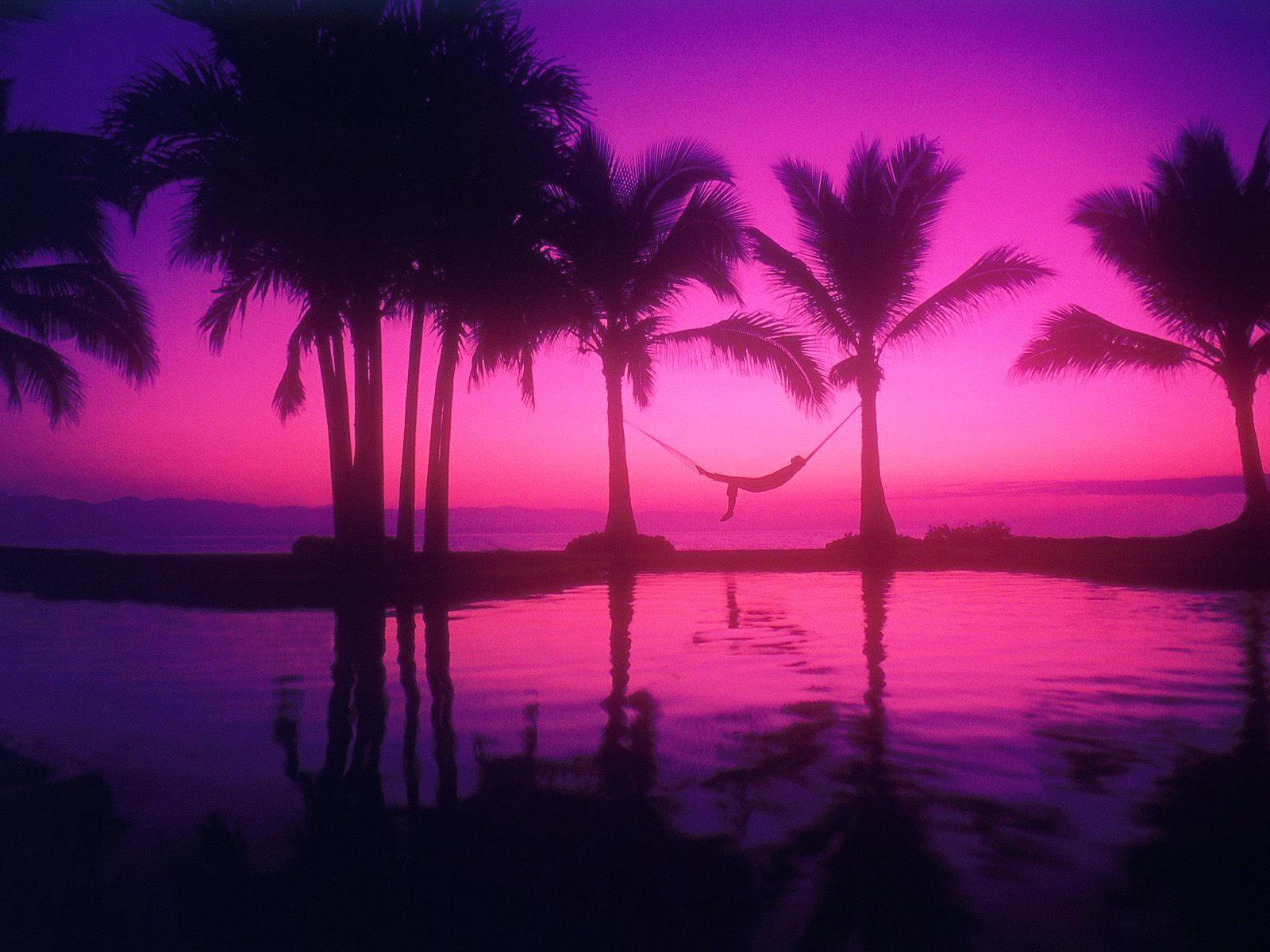 pink sunset wallpaper 1600x1200