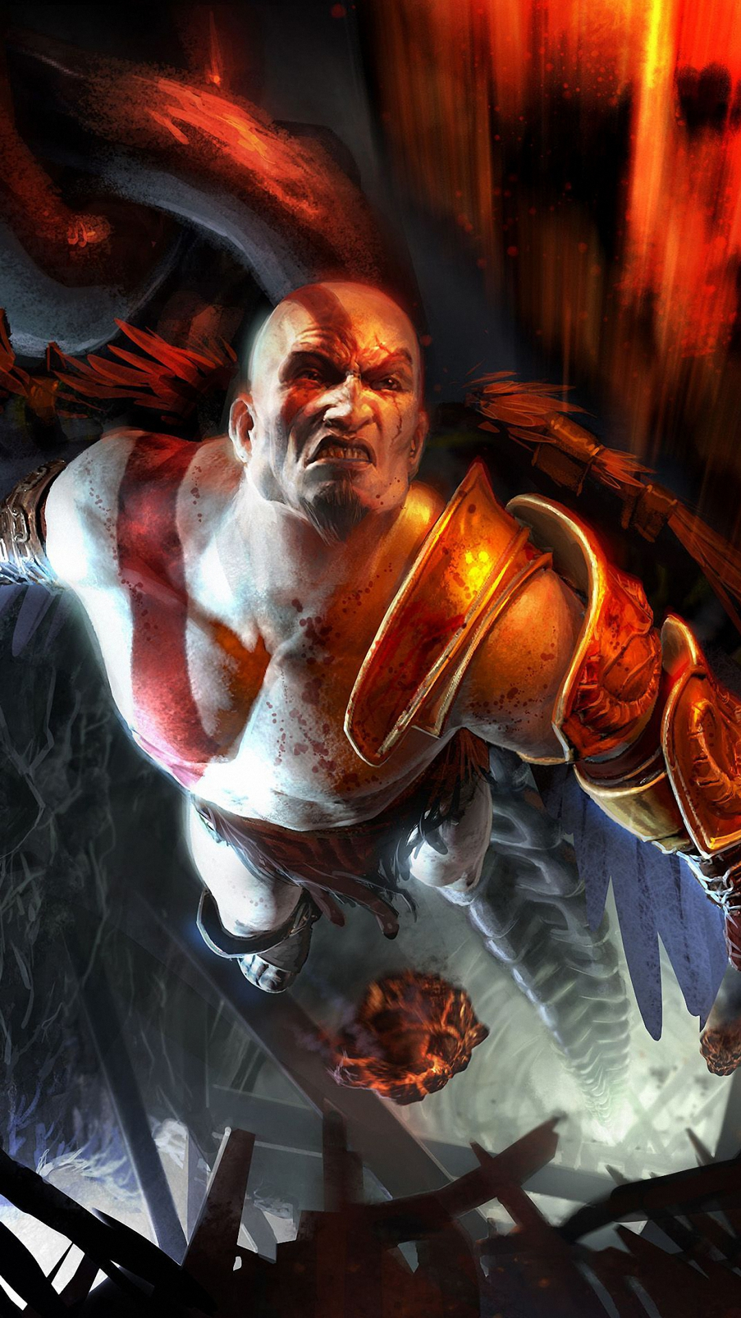 Kratos wallpaper hd wallpapersafari - Wallpaper kratos ...