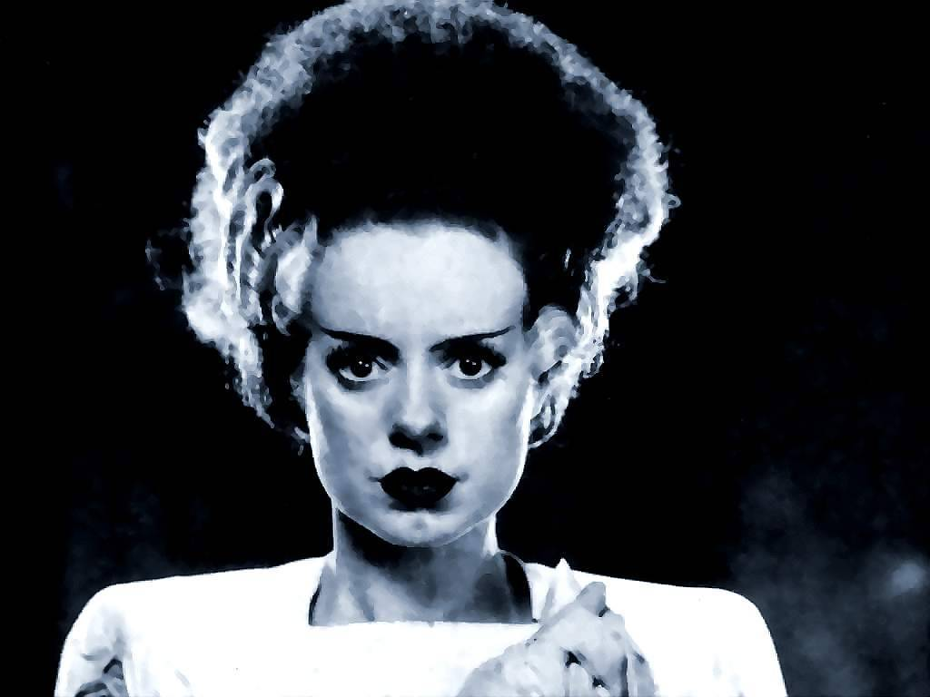 Wallpapers Clip Art and Images Bride Of Frankenstein 1024x768