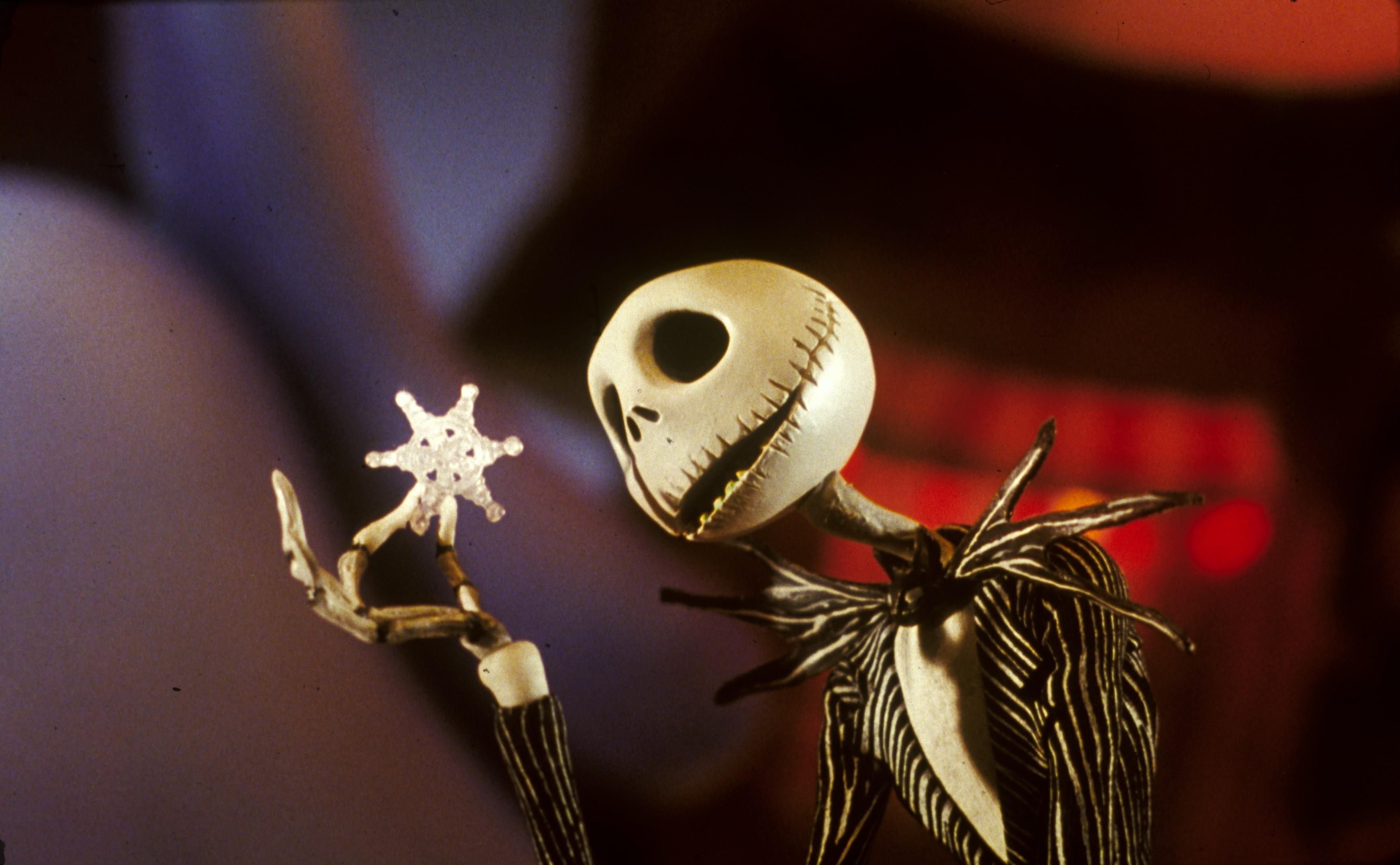 Jack Skellington Nightmare Before Christmas Wallpapers Ultra HD 3486x2153