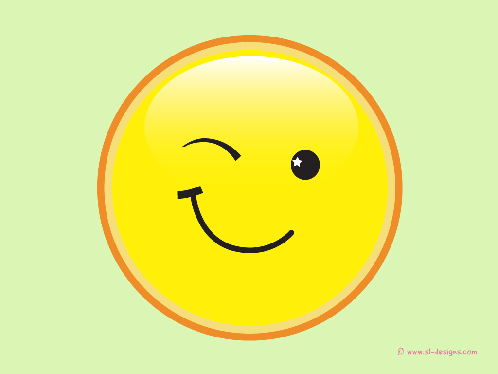 Click to zoom Go back to Smiley face wallpapers page 1024x768