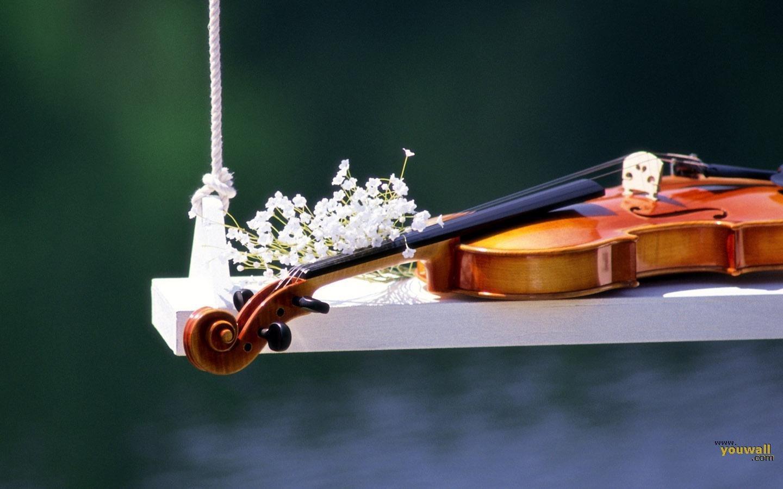 Hd Wallpapers Beautiful Wallpapers: Beautiful Violin Wallpaper
